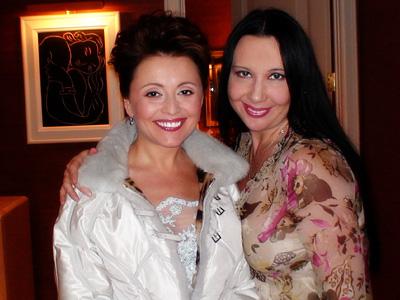 Наташа Грозовская и Анжелика Варум