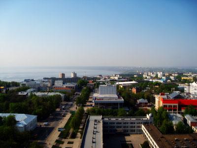 Ульяновск в высоты 21-го этажа