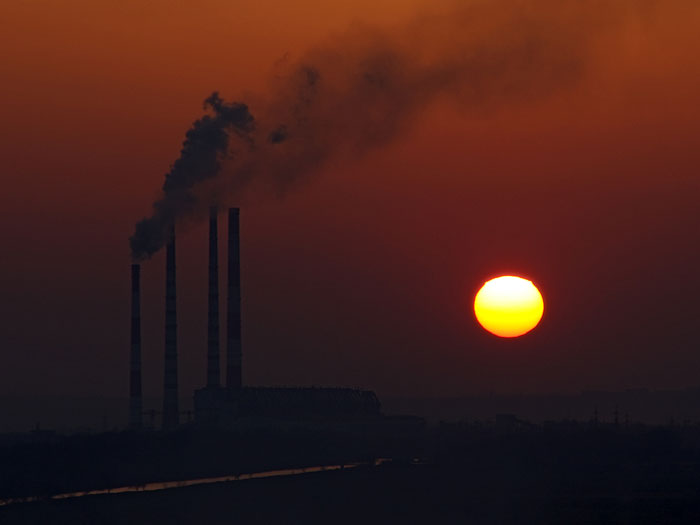 Закат над Новочеркасской ГРЭС