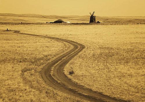 Дорога в Аркаим