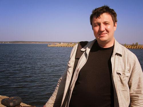 Ульяновск. На берегу Волги в Ульяновском порту