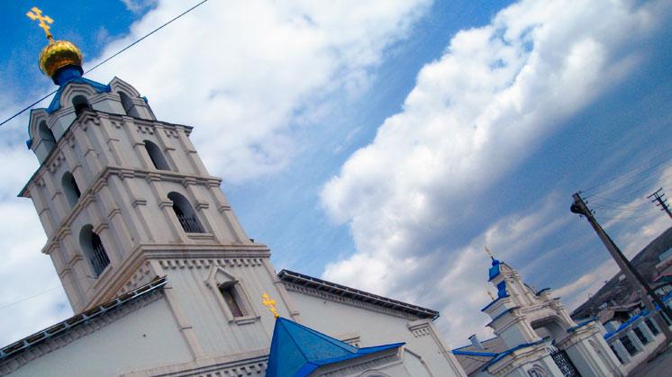 Магнитогорск. Свято Михайловский храм