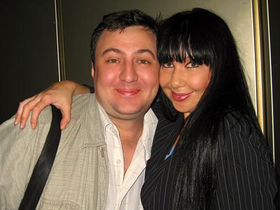 Наташа Грозовская и Роман Лебедев