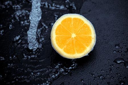 Лимон вкусный, сочный и ароматный