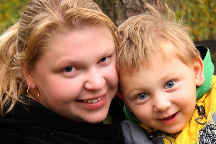 Танюшка с Данилой