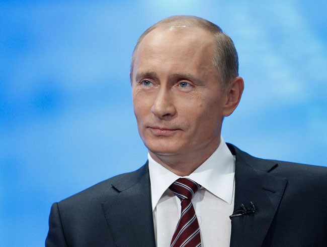 Владимир Путин отвечает на вопросы (aото с сайта moskva-putinu.ru)