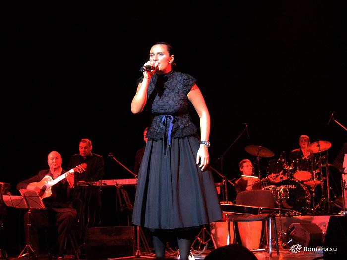 Елена Ваенга. 15 января 2009 года. Концерт GOLDEN FISH в Московском Театре Эстрады. Фото © Romaha.su