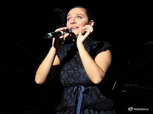 Елена Ваенга. 15 января 2009 года. Концерт GOLDEN FISH в Московском Театре Эстрады