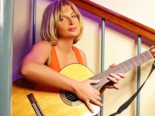 Певица Катерина Голицына. Фото с официального сайта www.golitsyna.ru
