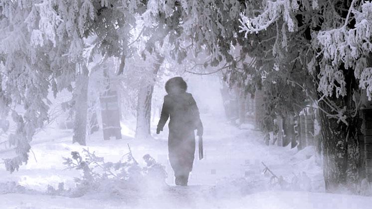 Мороз крепчал