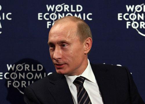 Владимир Путин на Всемирном экономическом форуме в Давосе