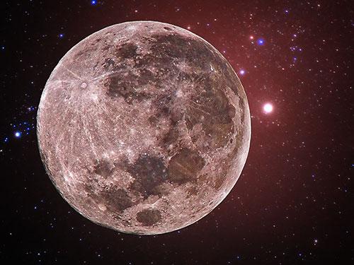 Полная луна. Январское полнолуние. Фото Roslyakov Ivan