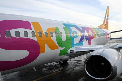 Самолёт авиакомпании Skyexpress. Фото с сайта www.skyexpress.ru