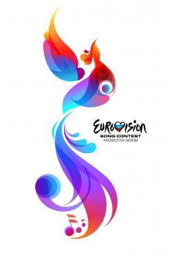 Евровидение. Эмблема конкурса в Москве. Иллюстрация с сайта www.eurovision.tv
