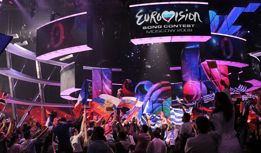 Евровидение 2009. Финал. Фото Alain Douit (EBU)