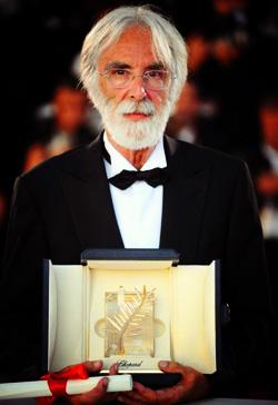 Обладатель Золотой пальмовой ветви 62-го Канского кинофестиваля Михаэль Ханеке (Michael Haneke)