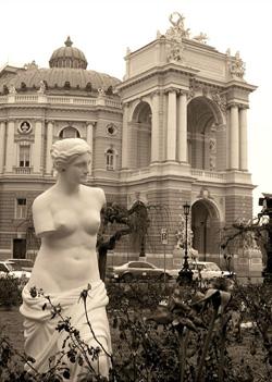 Одесский оперный театр. Фото Татьяна Стрельникова