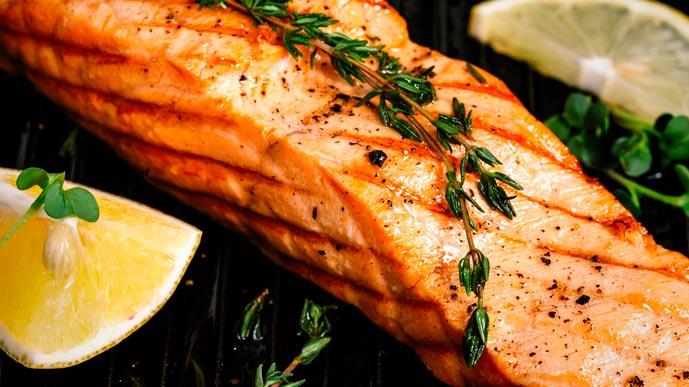 Здоровье и лосось