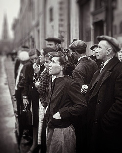 22 июня 1941 года на улицах Москвы