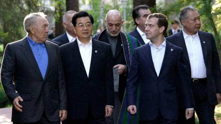 Екатеринбургский саммит ШОС