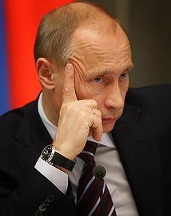 Владимир Путин. Фото с официального сайта Правительства РФ www.government.ru