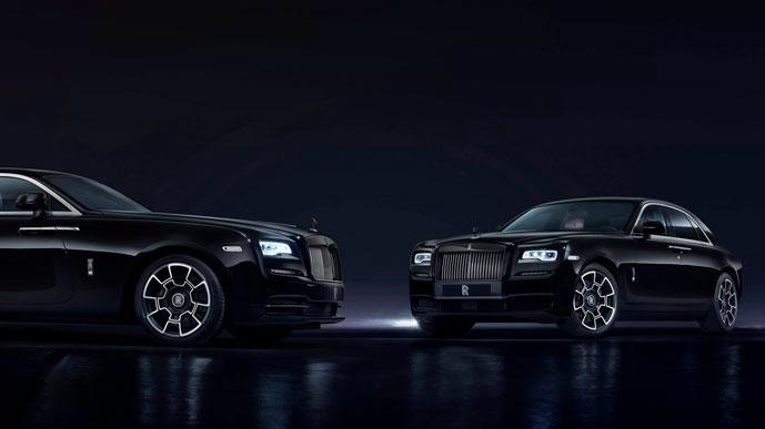 Маленький и быстрый Rolls Royce Ghost