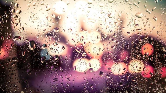 Дождь по стеклу…