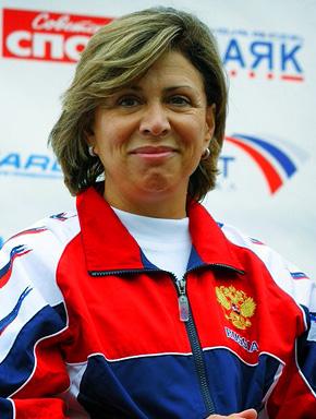 Трёхкратная олимпийская чемпионка Ирина Роднина