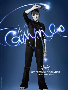 63-й Каннский кинофестиваль. Постер фестиваля с официального сайта www.festival-cannes.fr