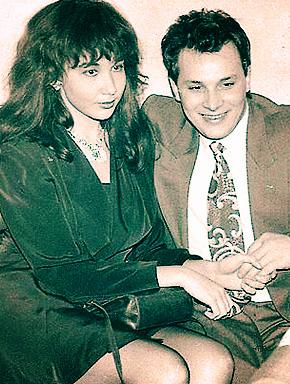 Наташа Грозовская и Андрей Разин