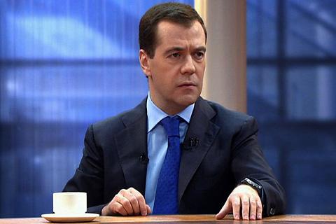 Дмитрий Медведев в эфире программы