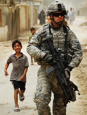 Американский миротворец в Ираке