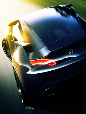 Авто на дороге в светлое будущее
