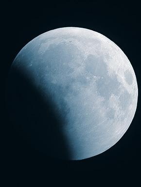 Полнолуние. Голубая луна