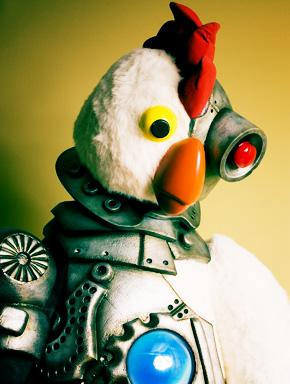 Курица-робот