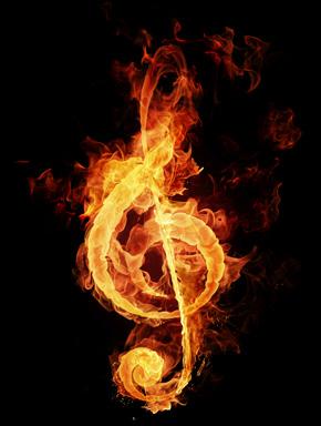 Огонь музыки