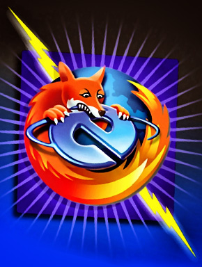 Firefox загрыз Internet Explorer