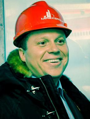 """Сергей Полонский лично водит экскурсии на башню """"Федерация"""""""