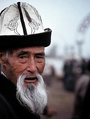 Старик киргиз