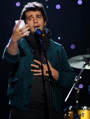 Пётр Налич (Peter Nalitch) в полуфинале конкурса Евровидение 2010 в Осло. Фото с официального сайта конкурса Евровидение