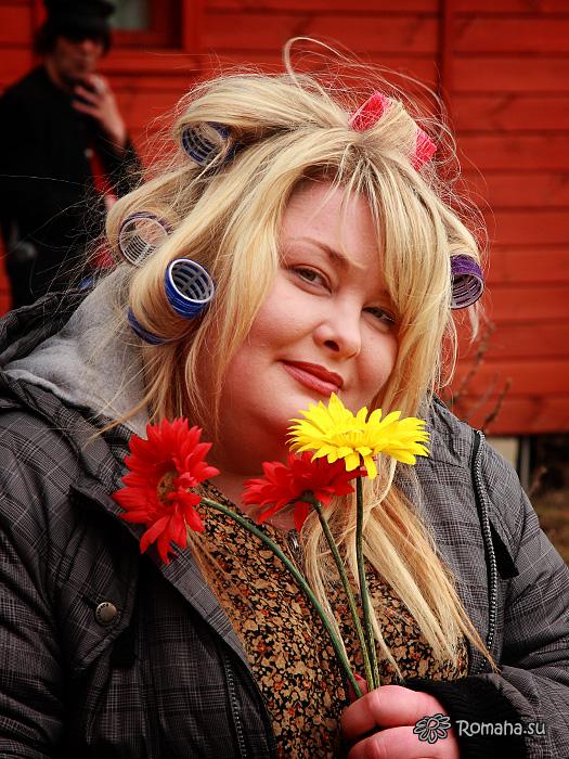 """Ляля Размахова. Фото 3 со съёмок клипа """"Провинциалочка"""""""
