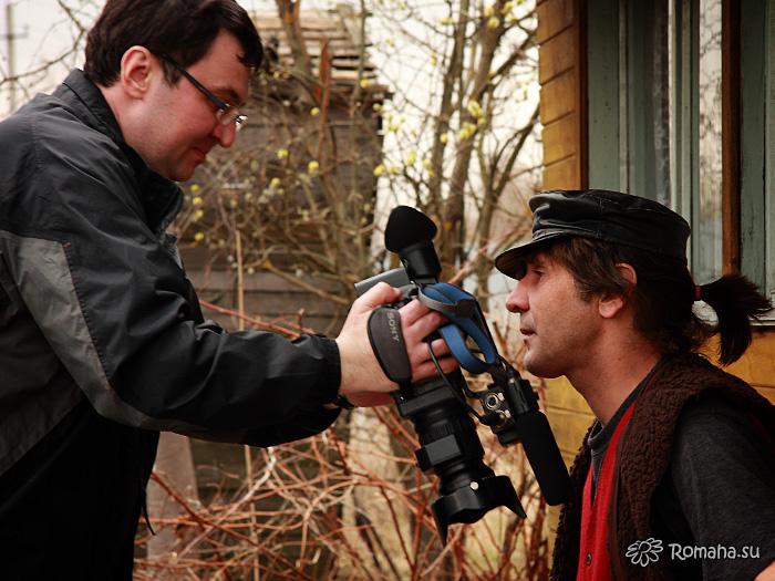 На съёмках клипа «Провинциалочка». Фото 5