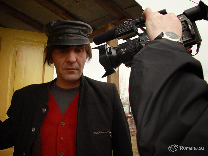 На съёмках клипа «Провинциалочка». Фото 8