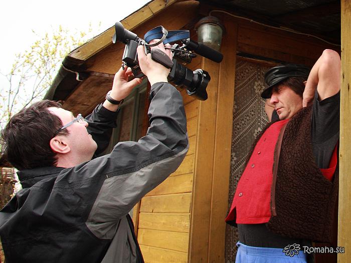 На съёмках клипа «Провинциалочка». Фото 9