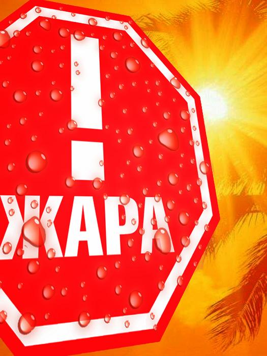 Жара в Москве. Коллаж Роман Данилин (http://blog.romaha.su)