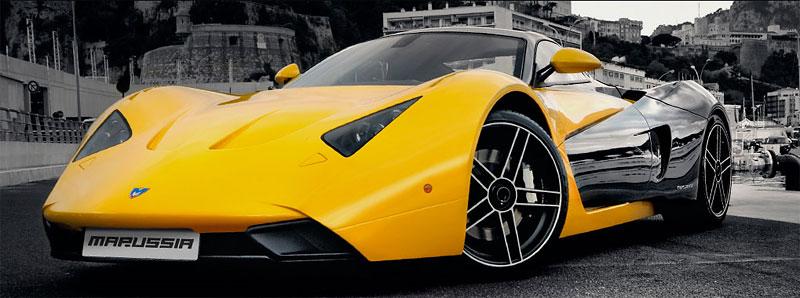 Спорткар Marussia уже в продаже