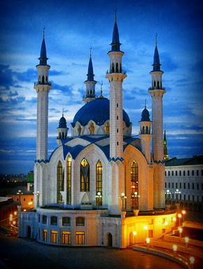 Вспомнилась Казань. Мечеть Кул-Шариф
