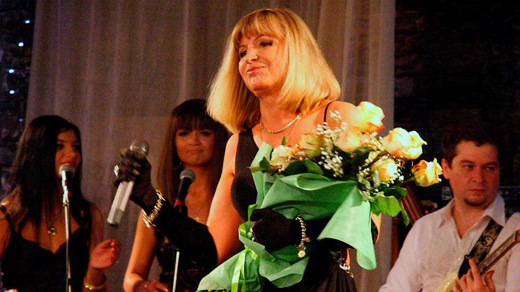 Катерина Голицына в Шансон клубе