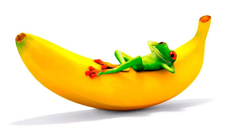 Бананы лопала бомба