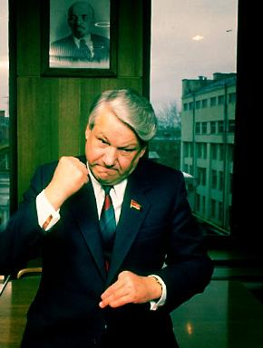Борис Ельцин, февраль 1989 года. Фото Ted Thai / Life Images